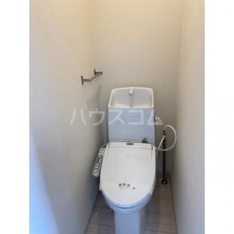 コーポハナミズキ 201号室のトイレ