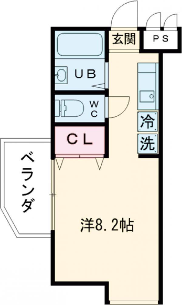 セントヤマト西台・A-201号室の間取り