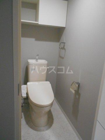 APエルテージ地行 510号室のトイレ