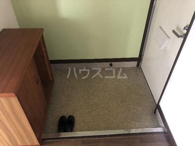 シャルム上野西 202号室の玄関