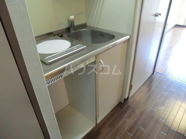 スクエアK 303号室のキッチン