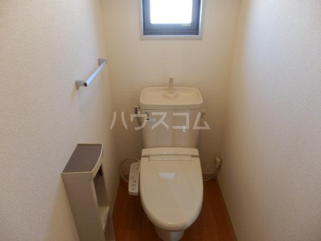 ベルパーク丸山 A棟 101号室のトイレ