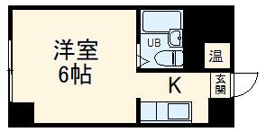 ユニーブル新栄・501号室の間取り