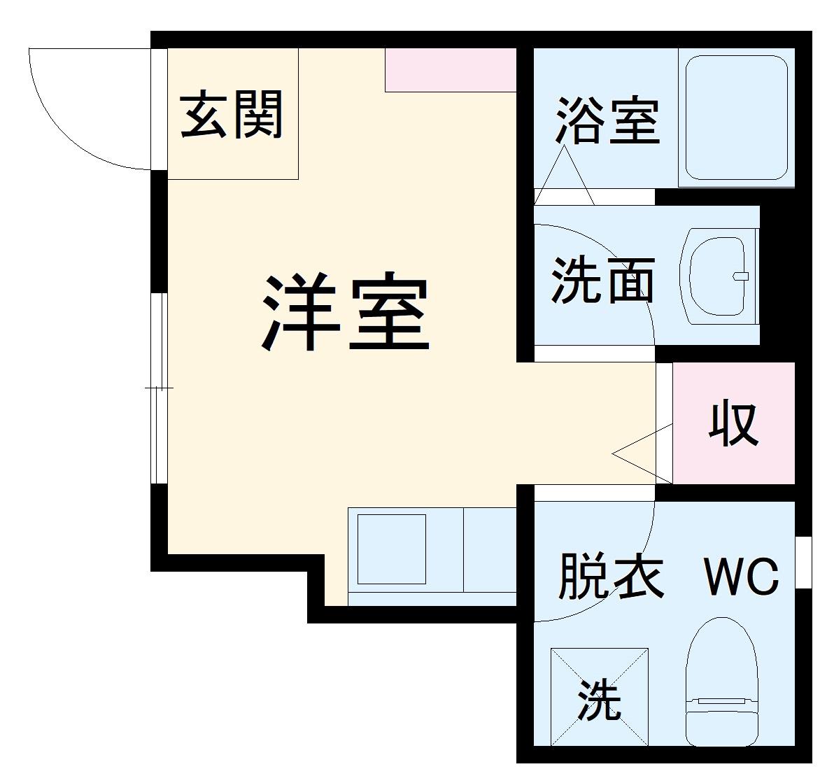 mitia terrace三郷・102号室の間取り