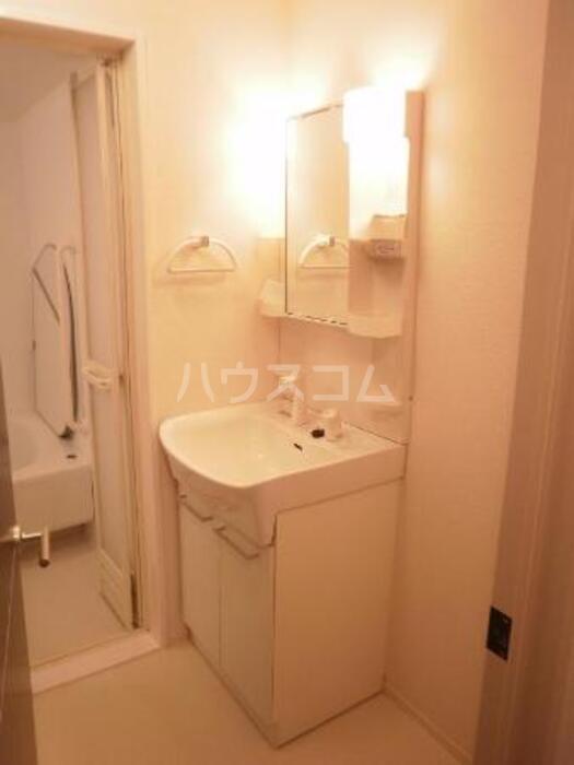 ハピネス コスモ 203号室の洗面所