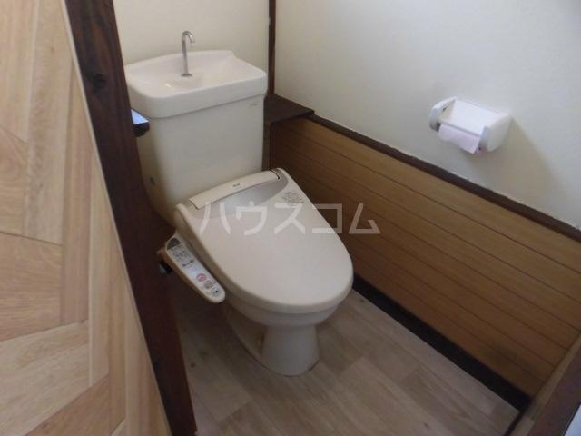 さくらさく柏の葉の家のトイレ