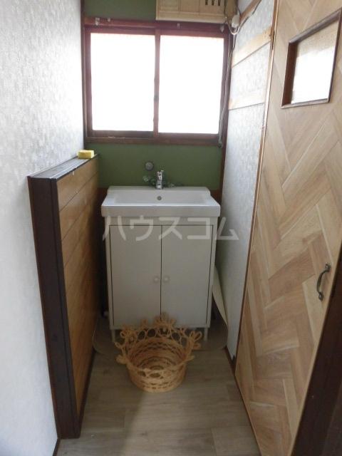 さくらさく柏の葉の家の洗面所