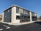 仮)足利市堀込町新築アパート 102号室の外観