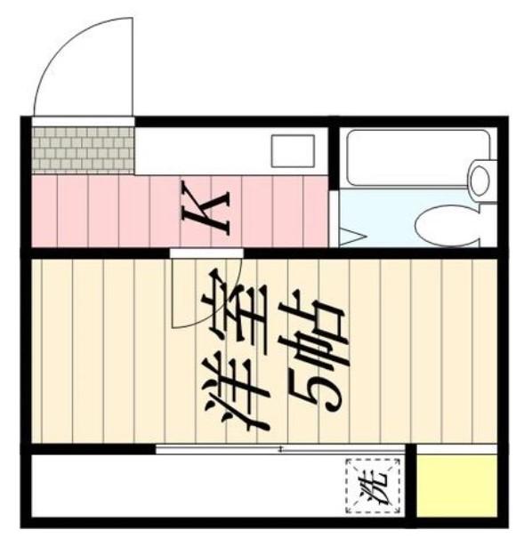 武里スクエア・0202号室の間取り