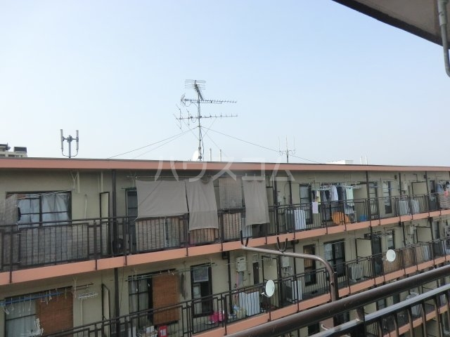 岸和田ハイツA棟 505号室の景色