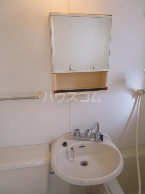 ラスールシライ 203号室の洗面所