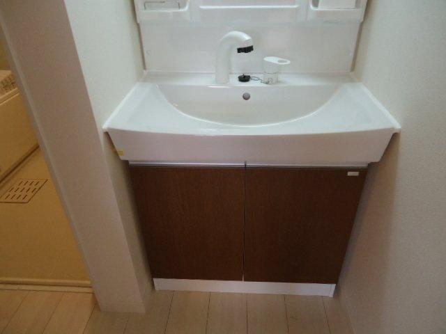 ディアベルジュ 201号室の洗面所