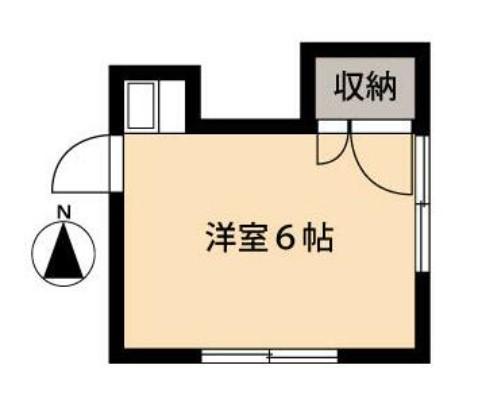 竹林コテージ第5迎賓ゲスト館・218号室の間取り