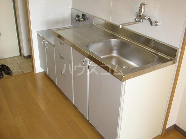 TS-MindⅡ 201号室のキッチン