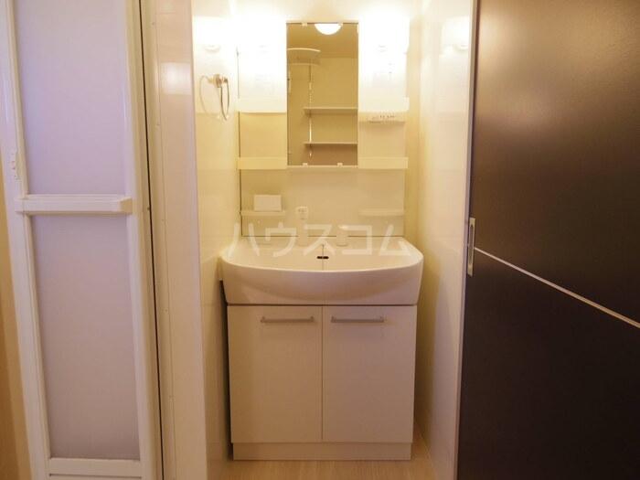スローライフさしま 201号室の洗面所