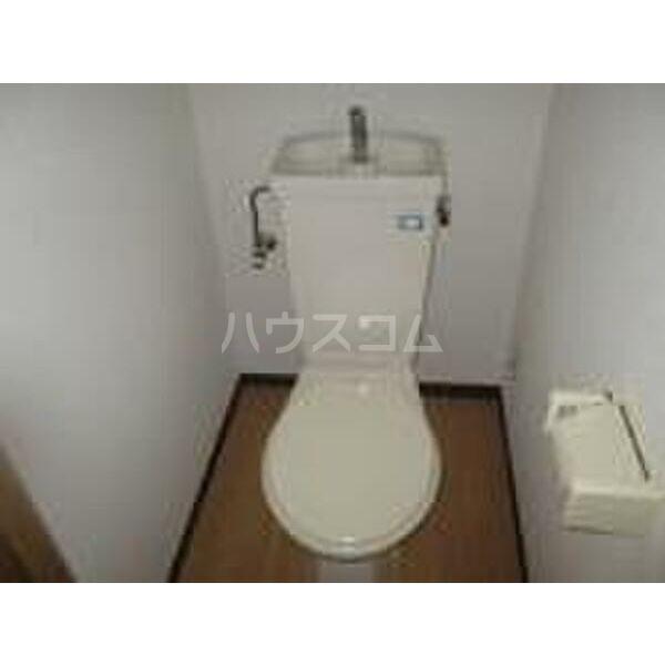 PLEAST竹下 605号室のトイレ