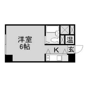ユニーブル新栄501号室・501号室の間取り