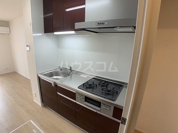 ジャルディーノ 101号室のキッチン