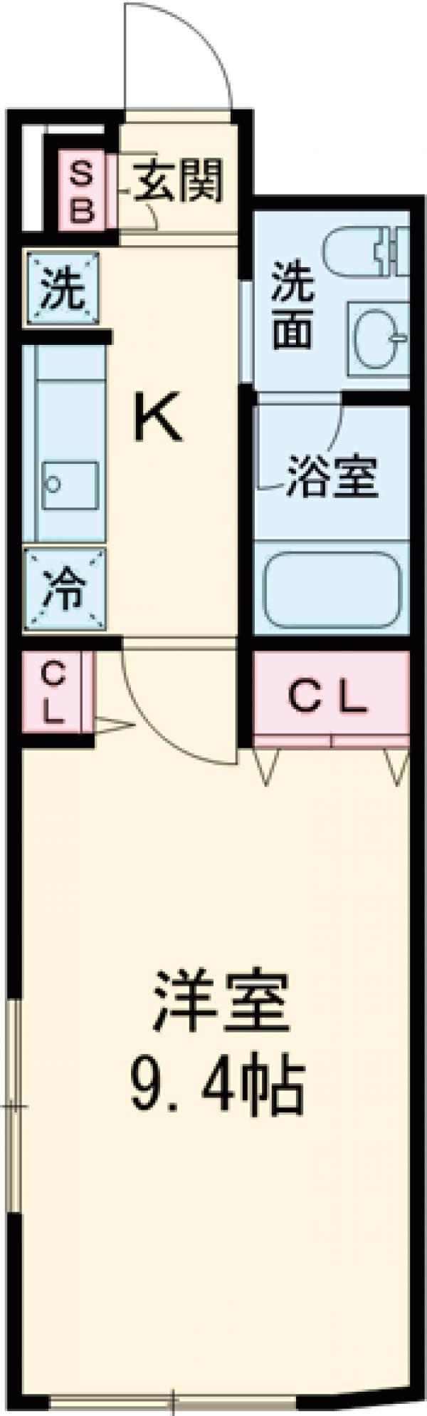 LiveFlat文京大塚WEST・202号室の間取り