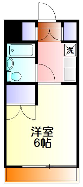 湘南サイト・302号室の間取り