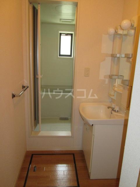 ラ・フランス 101号室の洗面所