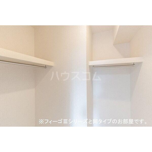 ブラン 01020号室の収納