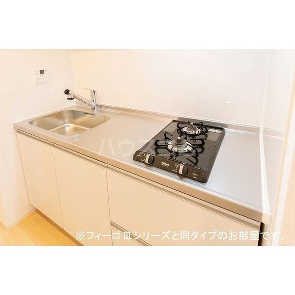 ブラン 01020号室のキッチン