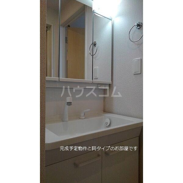 ブラン 01020号室の洗面所