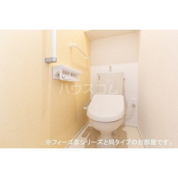 ブラン 01040号室のトイレ