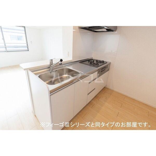ブラン 03020号室のキッチン