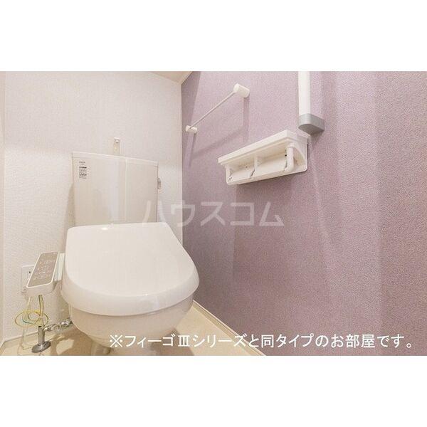 ブラン 03020号室のトイレ