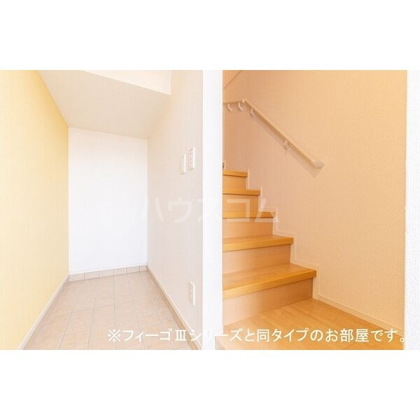 ブラン 03040号室の玄関