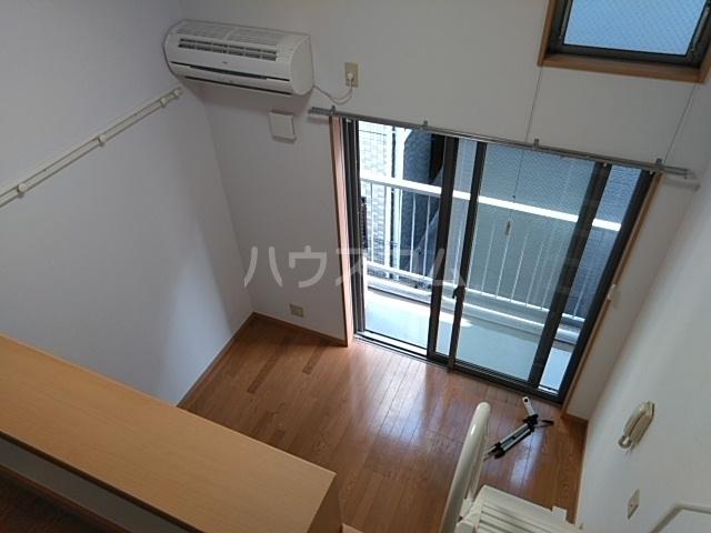 ハウスデュアル瑞江Ⅱ 202号室のバルコニー
