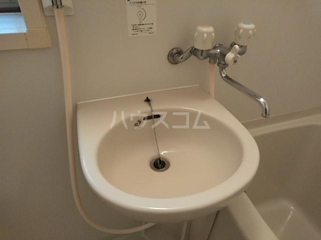 ハウスデュアル瑞江Ⅱ 202号室の洗面所