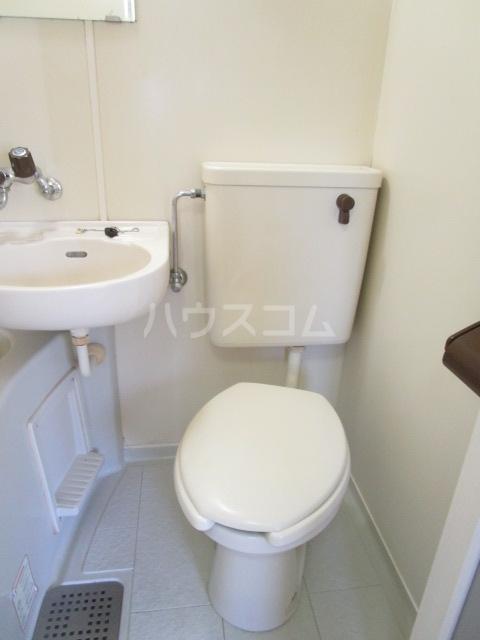 グリーンビレッヂ 101号室のトイレ
