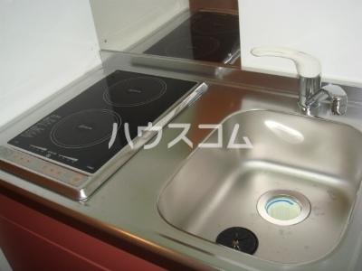 レオパレスツカサ 208号室のキッチン