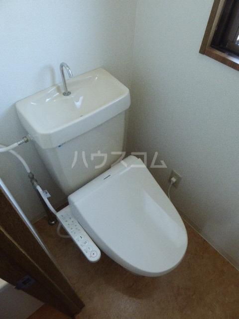 セントラルヒルズ 402号室のトイレ
