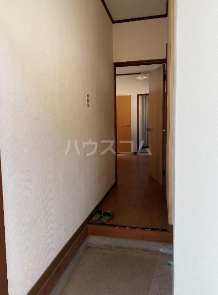 美浦村土屋戸建ての玄関