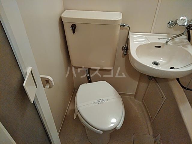 エクセレンス山ノ内 207号室のトイレ