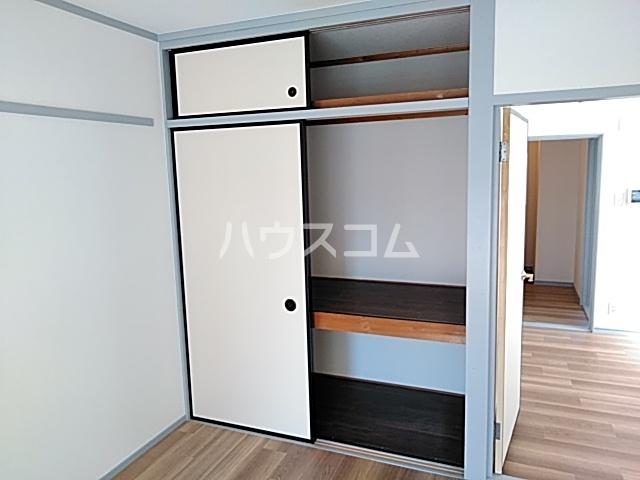 メゾン白鳳 202号室の収納
