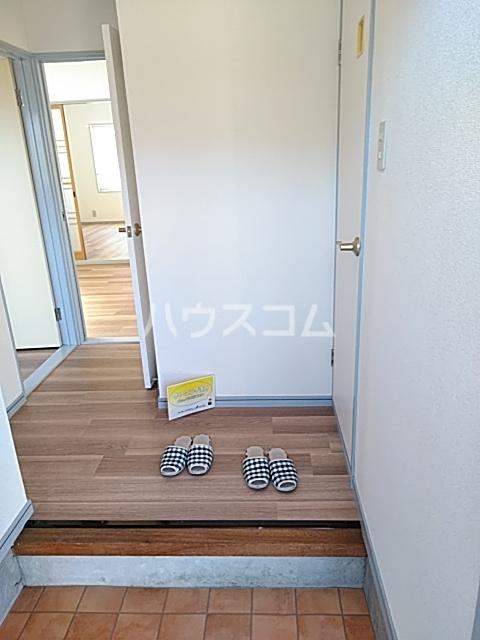 メゾン白鳳 202号室の玄関