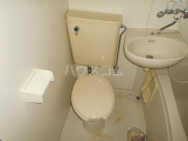 シルクハウス 205号室のトイレ