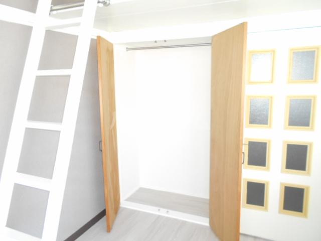 シルクハウス 205号室の収納