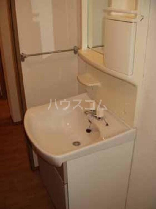 メルベーユ B B102号室の洗面所