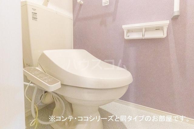 エール・ヌーボー 02010号室のトイレ