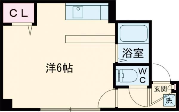 第3金田マンション・211号室の間取り