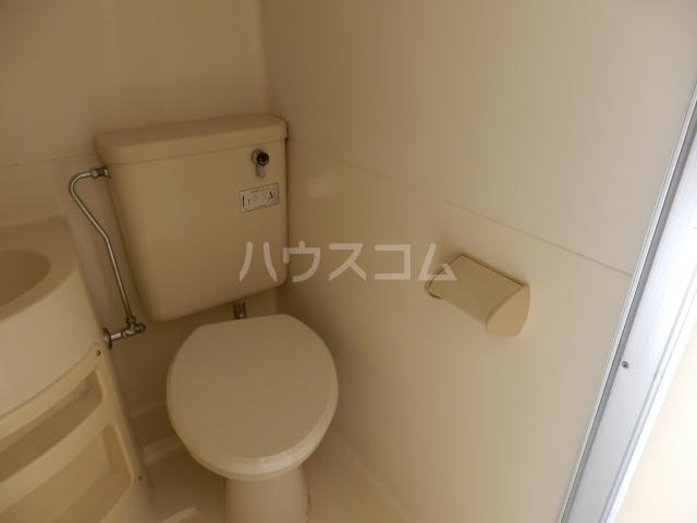 シャンテ津田沼A 210号室のトイレ