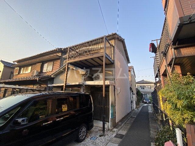 七宝町鈴木貸家の外観