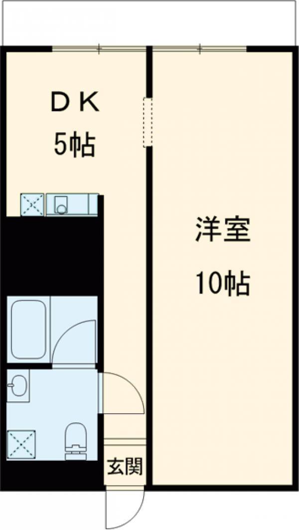 Residence Condominium KALAHAAI・201号室の間取り