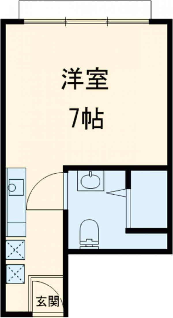 Residence Condominium KALAHAAI・501号室の間取り